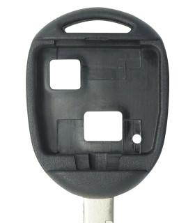 Coque clé 2 boutons Qualité supérieure pour Toyota Lame TOY47
