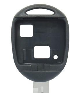 Coque clé 2 boutons Qualité supérieure pour Toyota Lame TOY41R