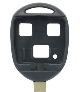 Coque clé 3 boutons Qualité supérieure pour Toyota Lame TOY40