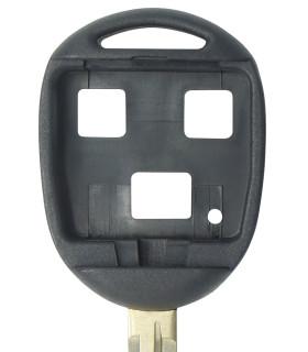 Coque clé 3 boutons Qualité supérieure pour Toyota Lame TOY43