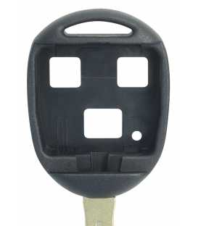 Coque clé 3 boutons Qualité supérieure pour Toyota Lame TOY48