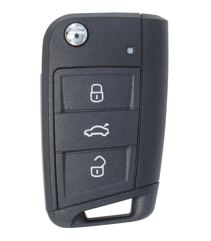 Coque télécommande Volkswagen-Golf-7-Sportsvan-Tiguan-2-Touran-3-Seat-Leon-3-Skoda-Karoq-Kodiaq