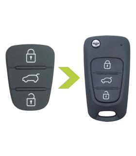 Bouton 3 touches pour Hyundai - Kia
