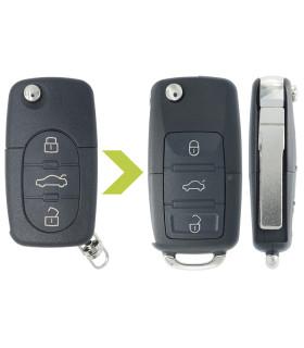 Télécommande Keydiy compatible  AUDI A3, A4, A6, A8, TT, 4D0837231A ou N