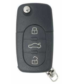 Coque télécommande Audi A6 (1997-2005) 3 boutons