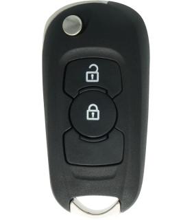 Coque clé 2 boutons pour Opel Astra K