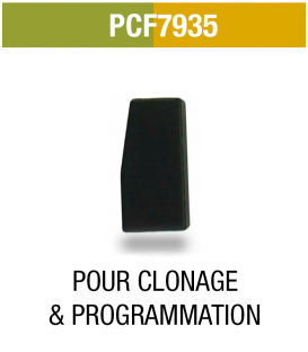 PCF7935 : Transpondeur clonage et programmation